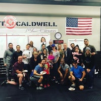 Photo taken at Crossfit Caldwell by Mari on 11/28/2017
