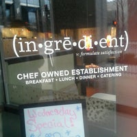 Photo taken at Ingredient by David A. on 4/9/2013