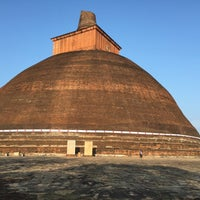 Photo taken at Jetavana Stupa by Harshana W. on 2/1/2015
