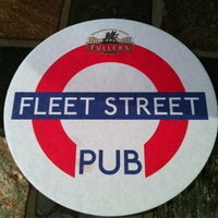 Photo taken at Fleet Street Pub by Jeffrey on 6/19/2013