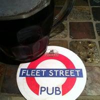Photo taken at Fleet Street Pub by Jeffrey on 6/26/2013