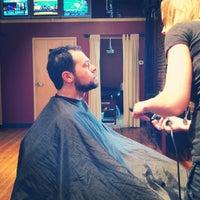 Photo taken at Men's Room Salon by Dustyn on 8/22/2014