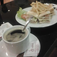 Photo taken at I-cos Coffee Shop by Okydamiannugrahanto N. on 8/8/2013
