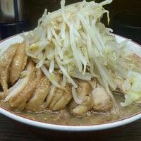 12/17/2012にゆうは 。.がラーメン二郎 横浜関内店で撮った写真