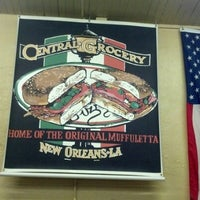 Photo taken at Central Grocery Co. by Pam H. on 11/5/2012