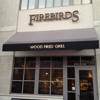 Photo taken at Firebirds Wood Fired Grill by Derrick A. on 12/1/2012