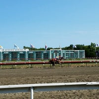 Photo taken at Suffolk Downs by Shawn F. on 9/4/2016