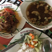 Photo taken at Soto Betawi H. Mamat by siensien on 7/16/2017