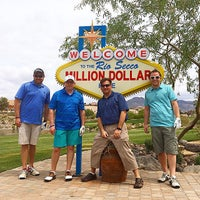 Photo taken at Rio Secco Golf Club by Matt S. on 5/15/2015