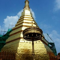Photo taken at Wat Prathat Cho Hae by Doud J. on 10/13/2012