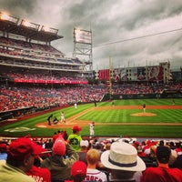 Photo taken at Nationals Park by Morgan H. on 7/2/2013