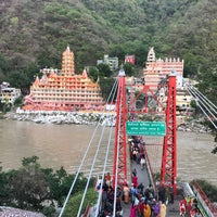 Photo taken at Lakshman Jhula | लक्ष्मण झूला by Ashutosh G. on 5/29/2017