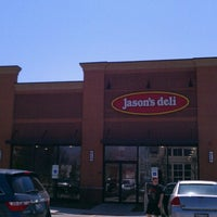 Photo taken at Jason's Deli by Amanda O. on 4/14/2013