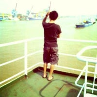 Photo taken at Sungai Kapuas, Anchorage by R. S. on 7/7/2013