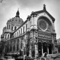 Photo taken at Église Saint-Augustin by Arno G. on 12/21/2012