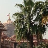Photo taken at Swaminarayan Akshardham by Arno G. on 10/13/2012