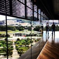 Photo taken at Hamon Education Tower Observation Deck by Eliza on 10/12/2012