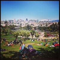 Photo taken at Mission Dolores Park by Joe M. on 5/26/2013