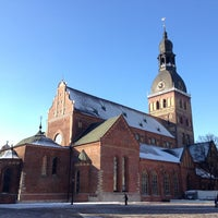 Photo taken at Rīgas Doms | Riga Cathedral by Alexey O. on 3/2/2013