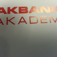 Photo taken at Akbank Akademi by Muhammet T. on 10/5/2013