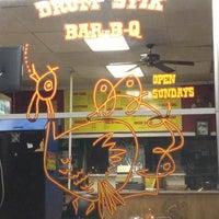 Photo taken at Drumstik Bar-B-Q by VJ T. on 10/6/2012