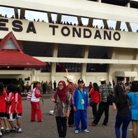 Photo taken at Stadion Maesa Tondano by cicy m. on 11/20/2013