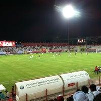 Photo taken at Al Ahli Club by Abdulla M. on 9/28/2012
