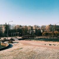 Photo taken at Большой пруд by Daria L. on 11/20/2014