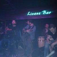 2/23/2013 tarihinde Dziyaretçi tarafından Livane Cafe & Bar'de çekilen fotoğraf