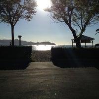 Photo taken at Spiaggia Bagnaia by arduinoit on 5/23/2013