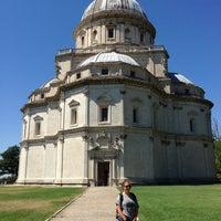 Photo taken at Santa Maria Della Consolazione by Marco on 8/12/2013
