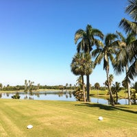 Photo taken at Crandon Golf at Key Biscayne by Jan Madman D. on 11/1/2012