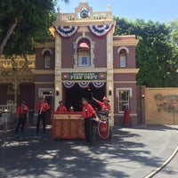 Photo taken at Disneyland Fire Department No. 1 by Sam S. on 8/20/2017
