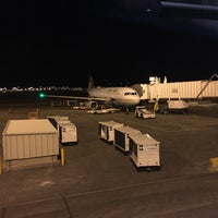 Photo taken at Gate B16 by Sam S. on 1/31/2017