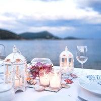 Photo taken at Kempinski Hotel Barbaros Bay by Hakan Ç. on 9/18/2012