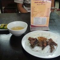 Photo taken at Bánh Cuốn Gia An by Tân H. on 11/18/2013