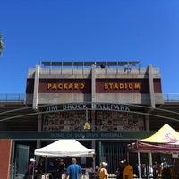 Photo taken at Packard Baseball Stadium by Ben on 4/21/2013