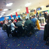 Photo taken at Merle Hay Lanes by Thada S. on 4/4/2013