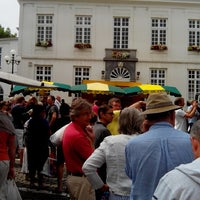 Photo taken at Marché de Boitsfort / Markt van Bosvoorde by Alfredo F. on 7/28/2013