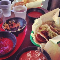 Photo taken at America's Taco Shop by Michael B. on 3/16/2013