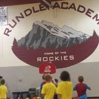 Photo taken at Rundle Academy by Calin D. on 5/29/2016