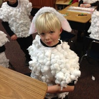 Photo taken at Our Savior Lutheran by Erin on 12/19/2012