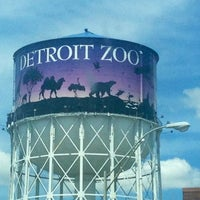 Photo taken at Detroit Zoo Water Tower by Erin on 5/25/2013