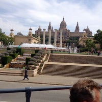 Photo taken at Parc de Bombers de Montjuïc by A 🐊 E on 5/1/2015