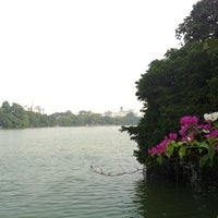 Photo taken at Thủy Tạ by Huy on 10/2/2012