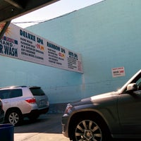 Photo taken at Sun Hand Car Wash by Mike T. on 3/25/2015