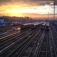 Photo taken at Clapham Junction Railway Station (CLJ) by Ben on 1/14/2013