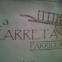Photo taken at La carreta Parrilla by Diana S. on 9/29/2012
