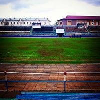 Photo taken at Стадион «Динамо» by Арти В. on 5/7/2015