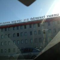 Photo taken at Florya Beşyol Kız Öğrenci Yurdu by Yusuf U. on 10/16/2012
